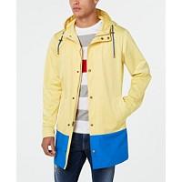 Deals on Lauren Ralph Lauren Men's Classic-Fit Colorblocked Raincoat