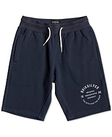 Quiksilver Big Boys Logo Graphic Track Shorts