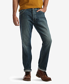 Wrangler Men's Regular Fit Straight Leg Jeans