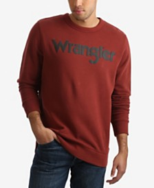 Wrangler Men's Logo Crewneck Sweatshirt