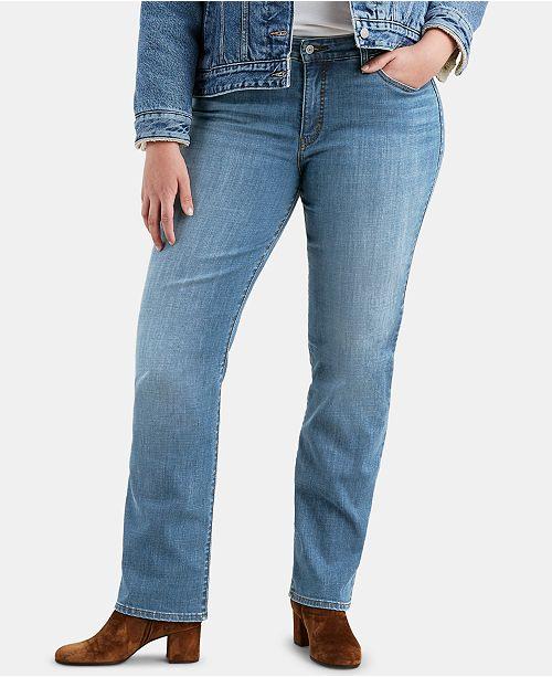 Levi's Plus Size Classic Straight-Leg Jeans