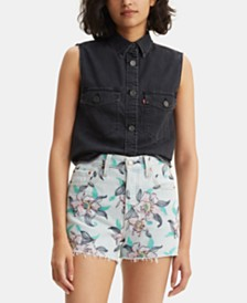 Levi's® Maddie Western Sleeveless Cotton Shirt