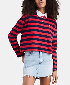 Levi's® Collared Striped Rugby Top