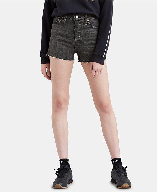 Levi's Wedgie Cutoff Denim Shorts