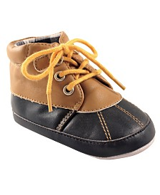Luvable Friends Duck Boots, Tan, 0-18 Months