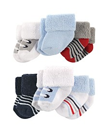 Newborn Socks, 6-Pack, 0-3 Months