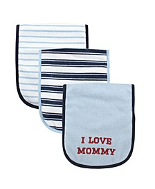 Burp Cloth, 3-Pack, One Size