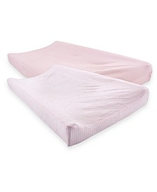 Organic Cotton Changing Pad Cover, 2-Pack, One Size