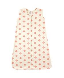 Organic Cotton Wearable Safe Sleeping Bag Blanket, 0-24 Months