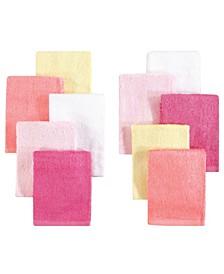 Little Treasure Luxuriously Soft Washcloths, 10-Pack, One Size