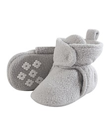 Baby Fleece Booties, 0-24Months