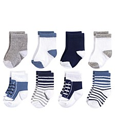 Basic Socks, 8-Pack, 0-24 Months