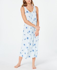 Charter Club Lace-Trim Knit Nightgown, Created for Macy's