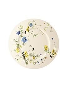 Brillance Fleurs des Alpes Rim  Service Plate
