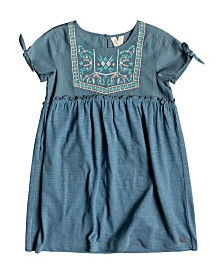 Roxy Girls Ocean Away Short Sleeve Dress
