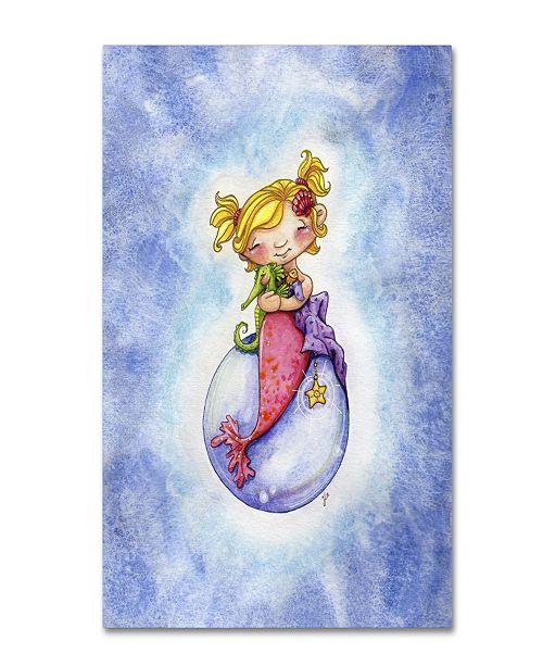 """Trademark Global Jennifer Nilsson Sea Snuggles Canvas Art - 18"""" x 24"""" x 2"""""""