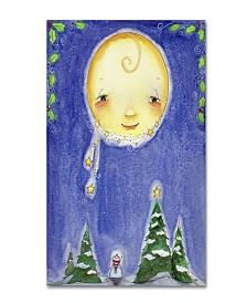 """Jennifer Nilsson Holiday Moon Canvas Art - 11"""" x 14"""" x 0.5"""""""
