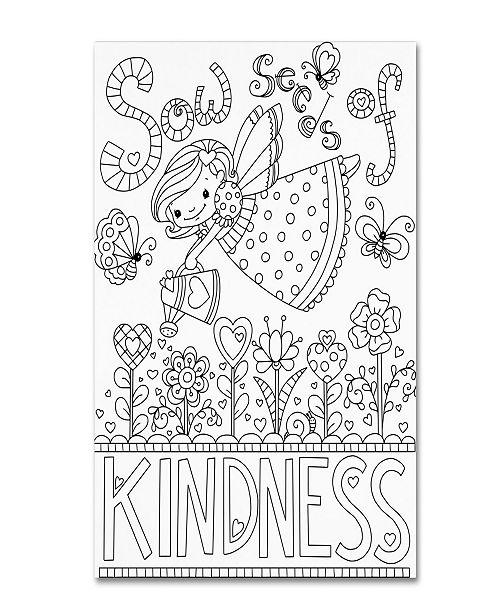 "Trademark Global Jennifer Nilsson Sow Seeds Canvas Art - 16"" x 20"" x 0.5"""