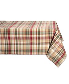 Give Thanks Plaid Tablecloth