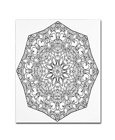 "Kathy G. Ahrens Sublime Mandala Canvas Art - 16"" x 16"" x 0.5"""