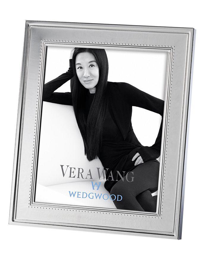 "Vera Wang Wedgwood - Vera Wang ""Grosgrain"" Frame, 8"" x 10"""