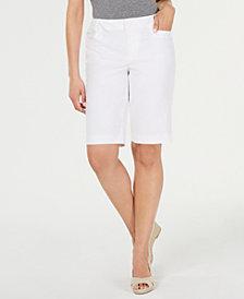 Charter Club Twill Bermuda Shorts, Created for Macy's