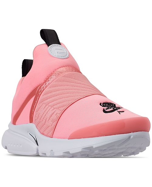 0453fa071518 Nike Little Girls  Presto Extreme Valentine s Day Running Sneakers from  Finish ...