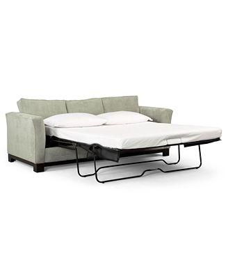 "Kenton 88"" Fabric Queen Sleeper Sofa Bed Created for Macy s"