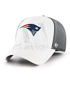 '47 Brand New England Patriots Super Bowl LIII Champ Dyer Contender Stretch Fitted Cap