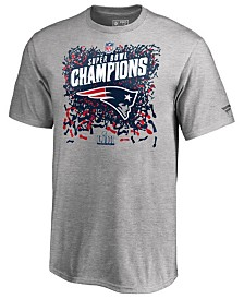 Majestic Men's New England Patriots Champ Official Locker Room Trophy T-Shirt