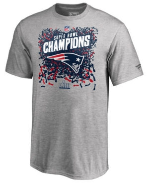 Men's New England Patriots Champ Official Locker Room Trophy T-Shirt