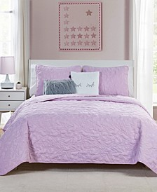 Happy Dreamer 4-Piece Quilt Set - Twin XL