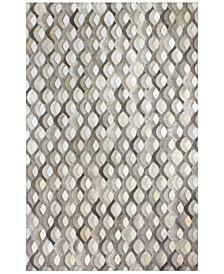 Cowhide HID-29 Grey 8' x 10' Area Rug