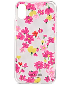 Jeweled Floral iPhone XS Case