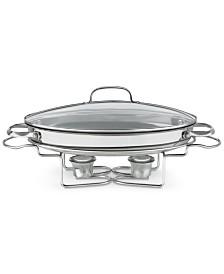 "Cuisinart 13.5"" Stainless Steel Oval Buffet Server"