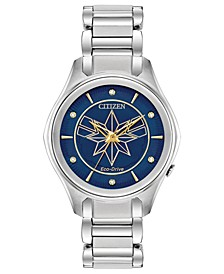 Eco-Drive Women's Captain Marvel Bracelet Watch 37mm