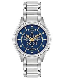 Marvel by Citizen Eco-Drive Women's Captain Marvel Bracelet Watch 37mm