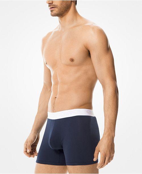 5684bb32a Michael Kors Men s 3-Pk. Stretch Factor Boxer Briefs   Reviews ...