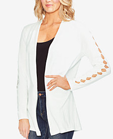 Vince Camuto Cutout-Sleeve Open Cardigan