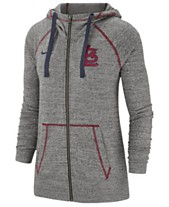 0d8b204fbaa4 Nike Women s St. Louis Cardinals Gym Vintage Full-Zip Hooded Sweatshirt