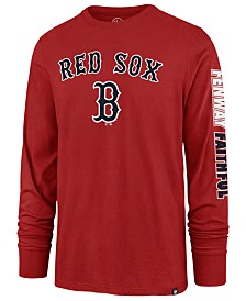 '47 Brand Men's Boston Red Sox Rival Local Long Sleeve T-Shirt