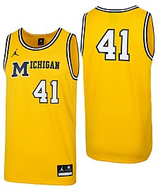 Jordan Men's Michigan Wolverines Replica Basketball Jersey