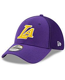 New Era Los Angeles Lakers Back Half 39THIRTY Cap