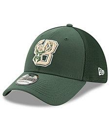 New Era Milwaukee Bucks Back Half 39THIRTY Cap