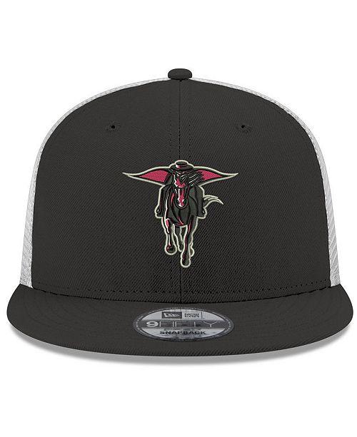 New Era Texas Tech Red Raiders TC Meshback Snapback Cap
