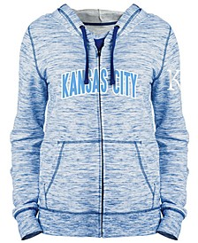 Women's Kansas City Royals Space Dye Hoodie