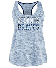 Women's Atlanta Braves Space Dye Back Logo Tank