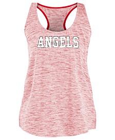 Women's Los Angeles Angels Space Dye Back Logo Tank