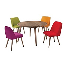 Wooden Side Chairs - Set Of 4