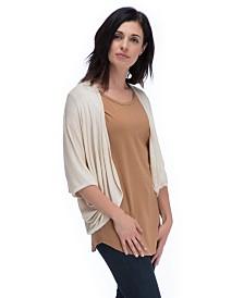 YALA Dara Viscose from Bamboo Sweater Cocoon Wrap